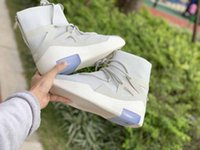 sapatos de corrida nylon venda por atacado-Air Fear of God 1 botas de grife mocassins de luxo 2018 homens da marca tênis de corrida Tênis para homens formadores New Arrival Sneaker