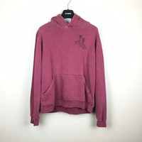 cüzdan erkek gömlekleri toptan satış-2002-2003 Raf simons Boy Kazak hoodies Erkek Kadın Unisex Cep Cebi Örgü Gömlek Moda Siyah Uzun Kollu Ücretsiz Kargo 888