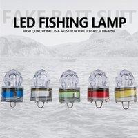 led yanıp sönen cazibesi toptan satış-Led Balıkçılık Lamba Fit Derin Bırak Sualtı Flaş Balık Lure Işıkları Elmas Şekilli Temizle Yem Lambaları 5 Renk Seçeneği 5lb E1
