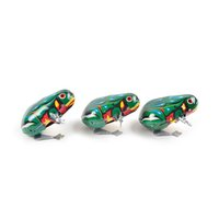 Wholesale vintage wind toys resale online - Kids Classic Tin Wind Up Clockwork Toys Jumping Frog Vintage Toy For Children Boys Educational Classic Toys For Baby Infant Kids