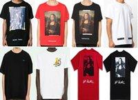 ingrosso magliette a marchio in vendita-Nuova maglietta della maglietta della maglietta della maglietta degli uomini di marca di vendita calda di modo di vendita calda degli uomini Maglietta delle donne S-XL