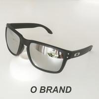 holbrook sonnenbrille polarisieren großhandel-Holbrook o Marke Mens Design Fashion Sonnenbrille Rahmen polarisierte Linse NEW9102 New Outdoor Brille Freies Verschiffen mit Original Box VR46 99