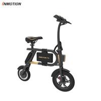 mini bicicleta plegable al por mayor-INMOTION E-BIKE P1F La mini aplicación plegable del estilo IP54 de la vespa eléctrica apoyó la bici electrónica 30km / h