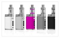 elektronische kits großhandel-Elektronische Zigarette 75W Box Mod Kit Vape Stift 2200mAh 75W E-Zigarette Kits 3ml MINI Zerstäuber Tank Vaporizer Vapor E Zigaretten