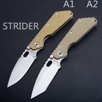 e facas de início venda por atacado-STRIDER SMF Tático Faca Dobrável Y-START (440C + G10 Handle) Faca de Sobrevivência Ao Ar Livre EDC CNC FACA
