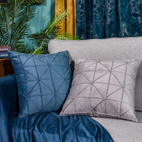Wholesale hug pillow resale online - Home Decorative Sofa Throw Pillows Case Simple Home Sofa Hug Pillow Cover Living Room Bedroom Pillow Case Hug Cushion Cover