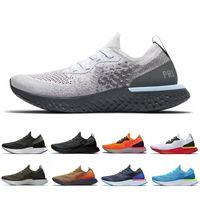 koşu ayakkabıları konforu toptan satış-2019 Şampiyonu Sanatı Bakır Tepki Eleman Mens Koşu Ayakkabıları Yarış Runner Flaş Kadınlar Tasarımcı Eğitmenler Konfor Nefes Spor Sneakers