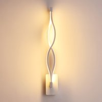 ingrosso supporti a parete in acrilico-Lampada da parete moderna ondulata bianco / nero da 16W Lampada da parete Apparecchio da soffitto acrilica da parete AC220V