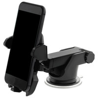 ingrosso porta gps regolabile-Supporto universale del telefono dell'automobile del supporto da 360 gradi Supporto del cruscotto del parabrezza del parabrezza regolabile della finestra per tutti i supporti di GPS del cellulare