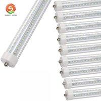 lastro de luz led venda por atacado-T8 5 pés LED Refrigerador Porta tubo luzes 45w AC110V FA8 Individual Pin Dual-End Desenvolvido substituição Ballast Bypass Limpar Len 6500K F60T12 fluorescente