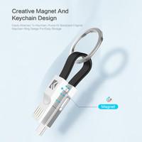 mini câble usb achat en gros de-Câble d'éclairage 3 en 1 USB Micro USB de type C pour iPhone XR X Samsung HUAWEI 2A mini chargeur de câble de charge
