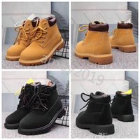 Wholesale mix kids shoes for sale - 2019 Timberland botas Kids Boys Girls Designer Sports Shoes Sneakers Casual Trainers Big Infant Children Brand timberlands boots