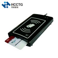 arabirim çipi usb toptan satış-Çift Boost II Arayüzü Tablet PC Cep Telefonu ISO14443A USB NFC IC Çip Akıllı Kart Okuyucu ACR1281U-C1