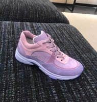 mens klasik deri elbise ayakkabıları toptan satış-Klasik Fransa Süet Deri Kaykay Ayakkabı Mens Womens Kaçak Düşük Üst Platformu Ayakkabı Sneakers Elbise Yürüyüş Tenis Ayakkabısı