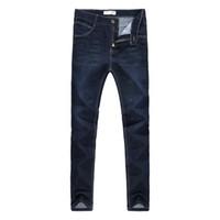 бренды одежда фарфор оптовых-Hot Sale Mens Biker fashion Jeans Men homme Casual Denim Straight Design Blue Cheap Clothes China Brand Jeans Men hombre