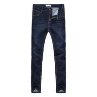 marcas de roupas china venda por atacado-Venda quente Mens Motociclista moda Jeans Homens homme Denim Casuais Design Reto Azul Barato Roupas China Marca Jeans Hombre Homens