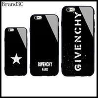 funda magnética iphone de apple al por mayor-Funda iPhone de diseñador Samsung aplicable para iPhoneXR XSMAX XS 7/8 plus 7/8 6 / 6SP S10 S10 + S9 Funda de teléfono de lujo con letras de marca 7 estilos