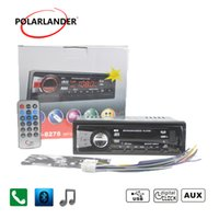 Wholesale mmc phone resale online - 12V Car Stereo FM Radio MP3 Audio Player built in Bluetooth Phone USB SD MMC radio cassette player DIN bluetooth Autoradio