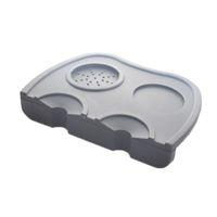 pad pod achat en gros de-Nouveau Tampon inviolable en silicone pour café Café noir Barista Pad Pod Outil Base plate Anti-acariens