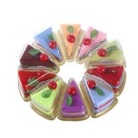 favores de la toalla al por mayor-Forma de sándwich Toalla de pastel Toallas creativas Regalos de cumpleaños navideños Baby Shower Día de San Valentín Regalo de boda para invitados Favores de fiesta