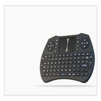 keyboard al por mayor-Mini Wireless 2.4 Ghz Keyboard Backlit Perfecto para Raspberry Pi PC Android con pantalla táctil Control remoto Envío Gratis