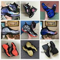 Wholesale penny hardaway basketball shoes for sale - Group buy Penny Hardaway Basketball Shoes Men Foam One Floral Snakeskin Big Bang Sequoia Lunar New Year Galaxy Memphis Tigers Blue Foams Sneakers