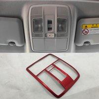 tampa da lâmpada mazda venda por atacado-ABS vermelho Matte Interior Luz de Leitura Cobertura Da Lâmpada Do Telhado Para Mazda CX-3 CX3 2015-2018
