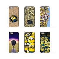 Wholesale minion iphone cases online – custom Despicable Me Gru Minions Army Hard Phone Case Cover For Apple iPhone X XR XS MAX S S C SE S Plus ipod touch