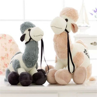 Wholesale cute valentines day gifts for sale - Cute Camel Plush Toy Big Size Stuffed Doll For Baby Children Gift Birthday Valentines Day Soft High Quality xk4 D1