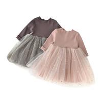 habille petite fille mois achat en gros de-bébé noël tutu tulle robe de bal age pour 9 mois-4 ans tout-petit sequin shine étoiles robe robe de soirée hiver robes pour petites filles