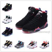 zapatos de baloncesto para niños con descuento al por mayor-Descuento, marca niños grandes Rojo 6 zapatos de baloncesto de la juventud calzado deportivo Niños tamaño de las zapatillas de deporte negro niños UE 28-35 Zapatos de la cesta Enfant