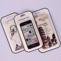 упаковка для блистерной упаковки для мобильного телефона оптовых-Универсальный чехол для мобильного телефона из ПВХ Пластик Розничная упаковка для блистерной упаковки с внутренней вставкой для iPhone Samsung HTC Oppo Чехол для мобильного телефона