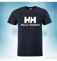 tops shirt simple venda por atacado-Helly hansen mens designer t camisas hh hombres moda cartas simples tees tops de manga curta