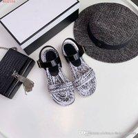 новый модный рынок оптовых-Новый стиль на рынке, женская модная обувь, красочные тканые сандалии, удобный повседневный стиль, размер 35-40