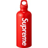 Wholesale bottle for cycling for sale - Group buy RED Sup Bottle water box logo sigg Traveller L Red SS18 SUP Bottles for Cycling Bicycle