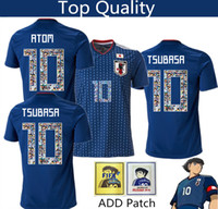 polices de maillot de football achat en gros de-Japon numéro de dessin animé maillot de polices de caractères 10 numéro de dessin animé Jersey 18 19 survêtement de football de qualité supérieure en Thaïlande