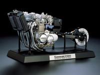 ingrosso dono gratuito kawasaki-Tamiya Static Model 1: 6 Kawasaki Z1300 Engine Plastic Assembly Toy 16023 Collection Gifts Spedizione gratuita