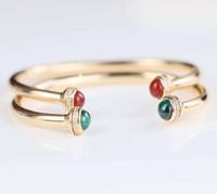 bilezik bileklik gümüş bilyalı toptan satış-S925 saf gümüş marka adı ile açılan bileklik doğa taş top ve elmas bilezik 16 # kadınlar için bileklik düğün takı hediye için ücretsiz sh