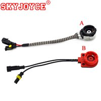 Wholesale hid bulb adapter for sale - Group buy SKYJOYCE Adapter for hid Xenon bulb D2S D2C D2R D4S AMP Socket Converter Cable Xenon Harness Wire HID Bulb Base Adaptor