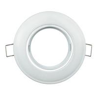 socle de support de lampe achat en gros de-Support de lampe de plafond MR16 Cadre Corps en fer GU10 Montage GU5.3 avec base GU10 MR16 Prise de courant Applique pour projecteur