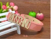 şeker kemer tokaları toptan satış-2018 kaliteli şeker renk çocuklar kemer marka tasarım stil moda rahat çocuk erkek kız kemerler klasik toka deri kemer