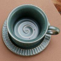 2746a4674c1 Wholesale vintage tea cups resale online - Vintage Tea Cup With Saucer  Espresso Pottery Drinkware Office
