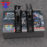 Wholesale footrest for motorcycle for sale - Group buy RiderJacky CNC Front Motorcycle Footrest Foot Pegs Foot Rests Pedal For FZ FZ8 FZ08