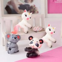 Wholesale monkey decoration dolls for sale - Group buy Simulation Animals Monkey House Panda Koala Cute Cartoon Doll Drink Straw Pen Decoration Grifts Toy For Children Kids