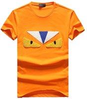t-shirts der qualitätsmänner großhandel-Die T-Shirts der Männer Qualitätsstickerei-T-Shirt verteidigt Butike, die T-Shirt Baumwolle Breathable Explosion T-Shirt Lose Sport-T-Shirts im Freien verkauft