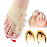 Wholesale bunion separators for sale - Group buy Big Bone Orthopedic Bunion Correction Pedicure Socks day night Silicone Hallux Valgus Corrector Braces Toes Separator Feet Care Tool SJB004