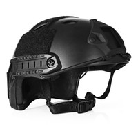 Wholesale tactical helmets resale online - Lightweight Tactical Crashworthy Protective Helmet for CS Paintball Game