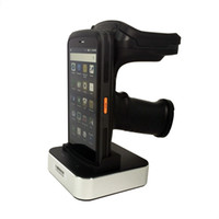 Wholesale tags reader resale online - Android PDF417 Barcode Scanner Long distance tag reading M UHF RFID reader G Handheld PDA computer with MP camera