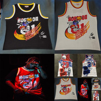 Wholesale scott jersey 23 for sale - Group buy Travis Scott X BR X MN Jack Report All star Michael MJ Star Allen Iverson All Over Eastern Western T Shirt Basketball Jersey