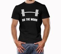 rosa crossfit shirts großhandel-Bodybuilding-T-Shirt, Muskel, Crossfit, Trainingshemd, tun die Arbeit Anzughut rosa T-Shirt